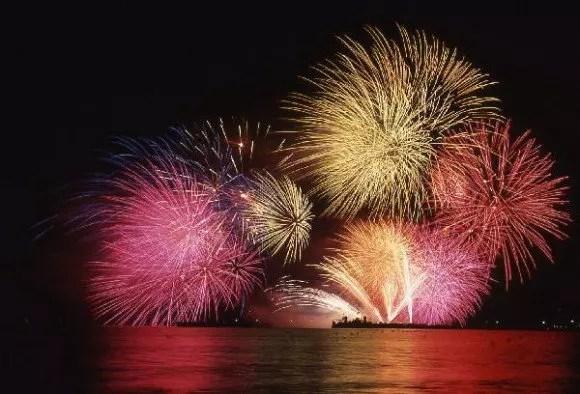 敦賀とうろう流しと大花火大会の穴場スポット2017や駐車場は?
