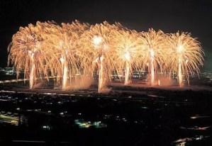 大井川花火大会の穴場スポット2018はココだ!場所は?