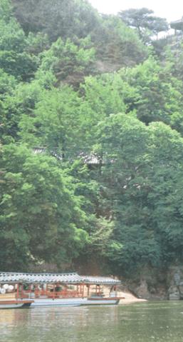 旅行・韓国・落花岩絶壁