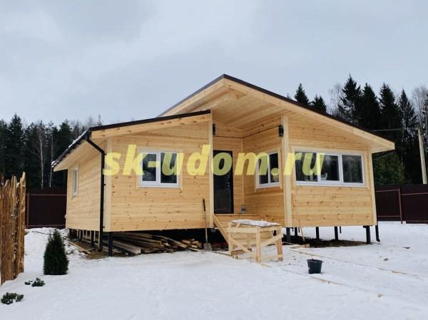 Строительство каркасного дома для постоянного проживания в ...