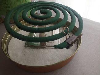 蚊取り線香 効果的な置き方