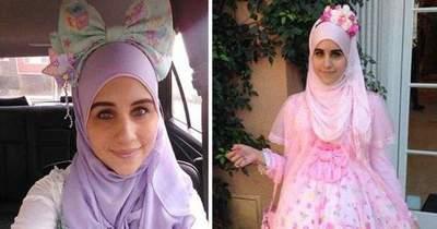 Pre prvú moslimskú modelku, ktorá nosila hijab (šatku,. Japonsky Styl Ganguro