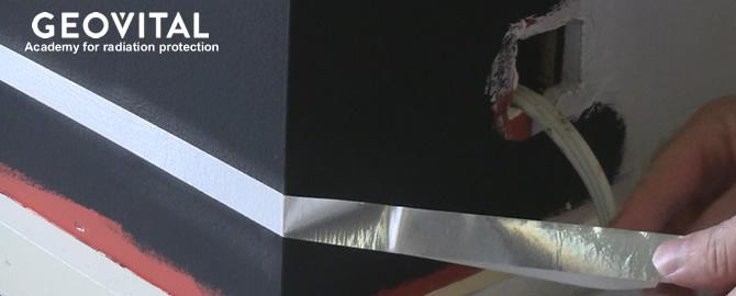 Grounding or earthing tape for shielding paint T98 Alpha