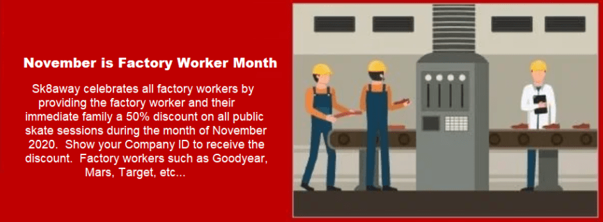 Factory Worker Month