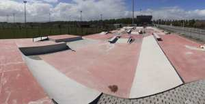 Inauguration et premiers runs au skatepark de Grand Synthe (59)