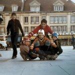 Skateboard Place Jeanne Hachette Beauvais été 1978