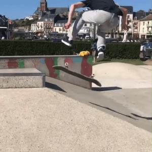 Session beauvaisienne au skatepark de Mers les Bains