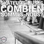 Skateurs, skateuses : combien sommes-nous ?