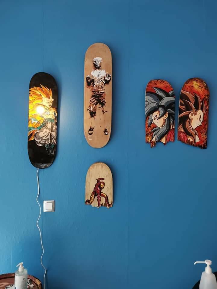 Read more about the article Expo plateaux de skateboards customisés Villers Cotterets (02)