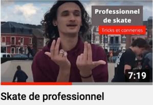 Skate de professionnel de Mers les Skates