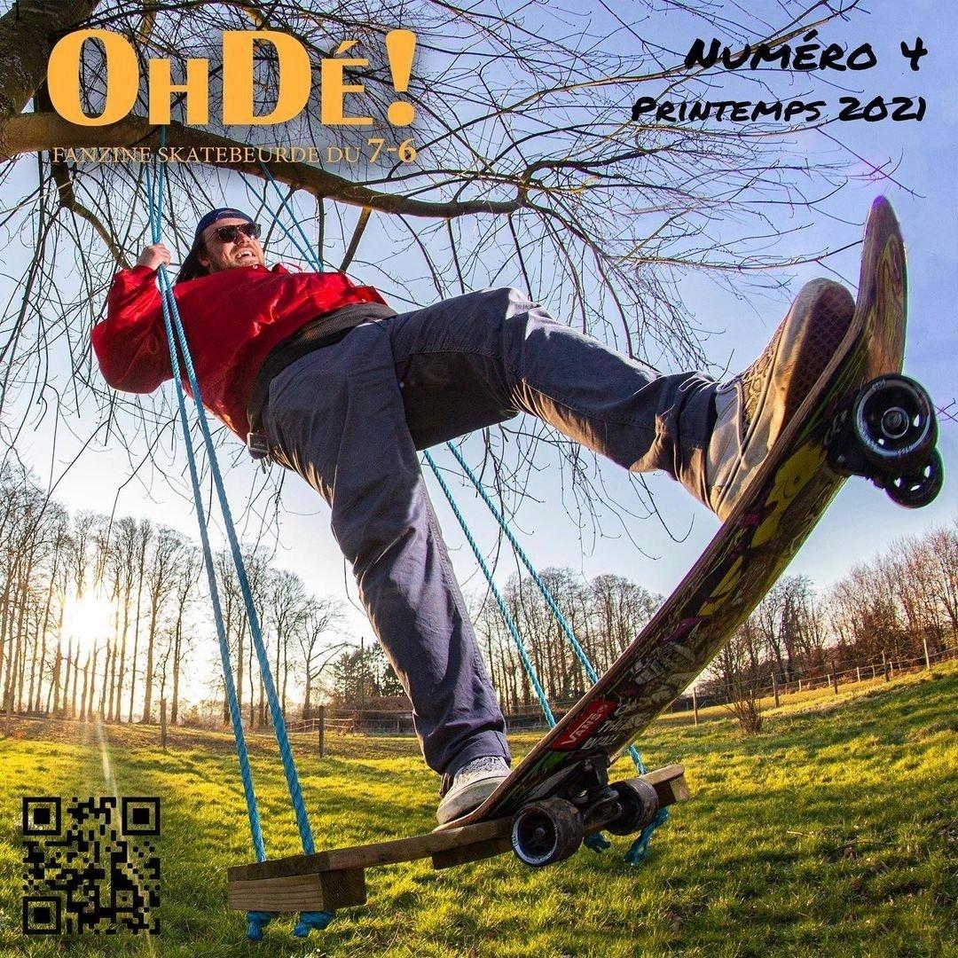 You are currently viewing Oh Dé #4 fanzine de skatebeurde normand printemps 2021