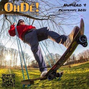 Read more about the article Oh Dé #4 fanzine de skatebeurde normand printemps 2021