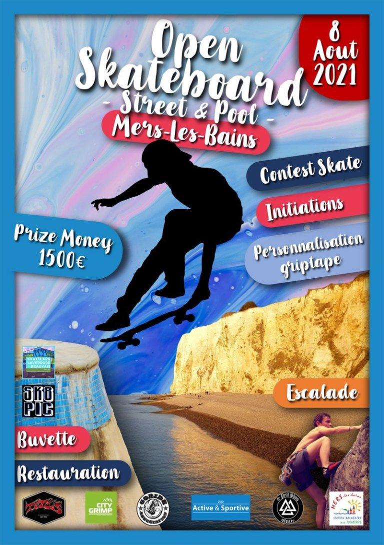 Read more about the article 8 août 2021 Open de skateboard de Mers les Bains