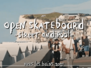 Read more about the article Clip officiel Open skateboard street-bowl 2021