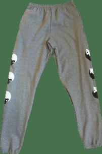 SK8RATS Ying Yang Sweats Grey 2