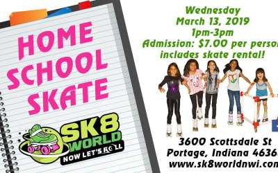March Home School Skate