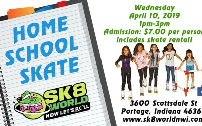 April Home School Skate