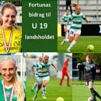 Fem fra Fortuna på U19-landsholdet