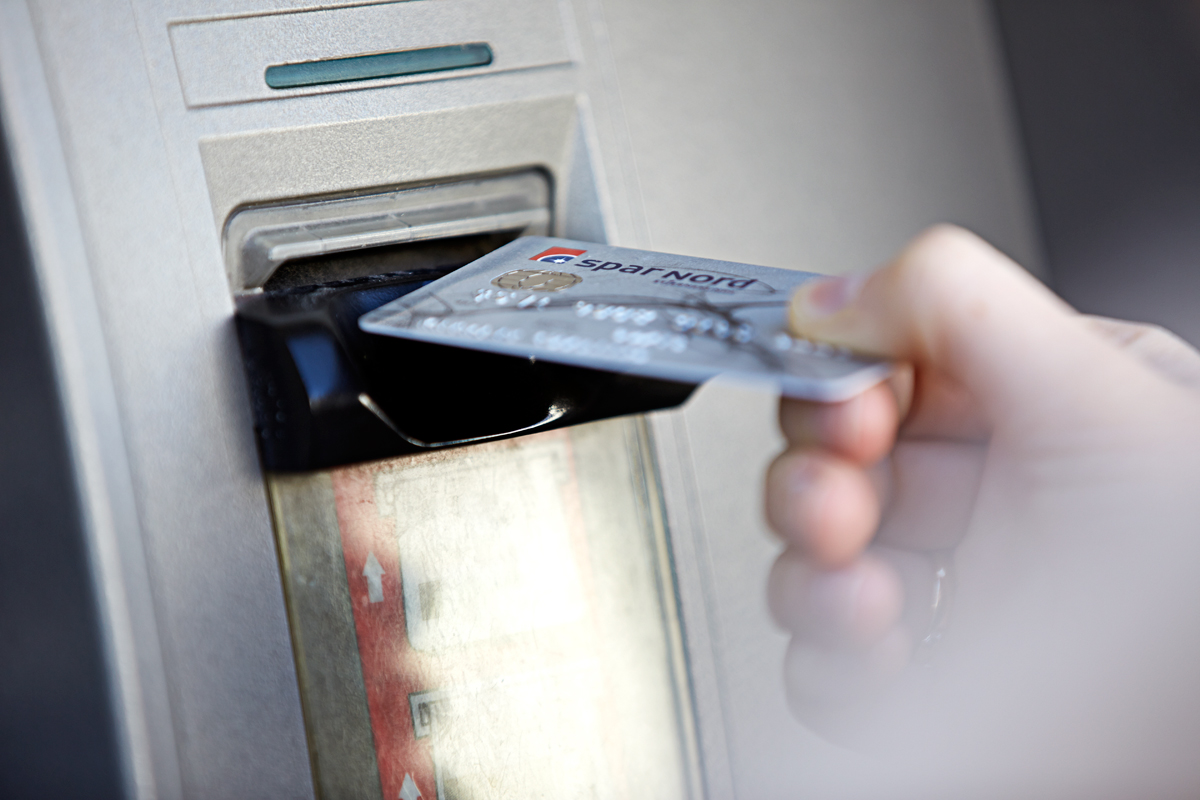 spærring af visa dankort spar nord