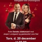 Julekoncert med Jesper Lundgaard på Voergaard Slot
