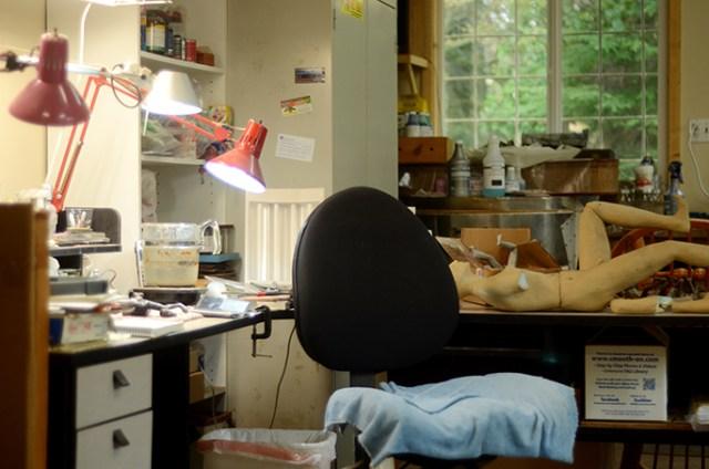 artist studio Robert Gigliotti Skagit Art Music