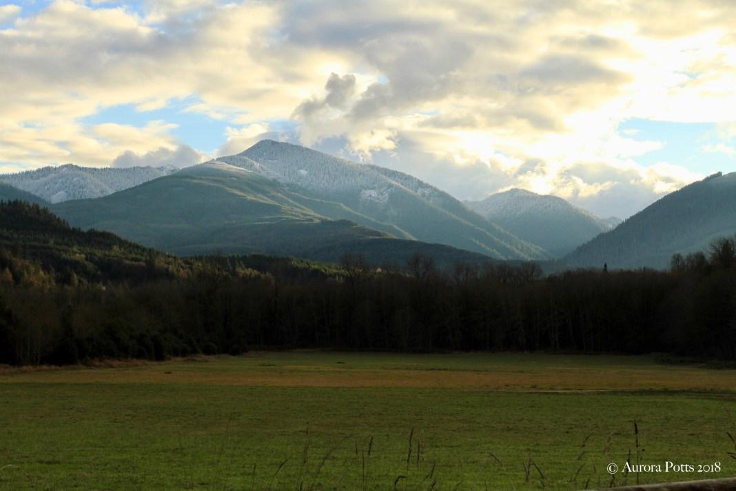 Skagit County Highway 20 scenic