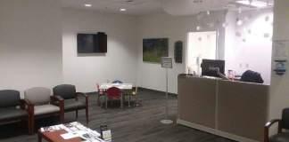 PeaceHealth Reception Area Inside The Walk In Clinic