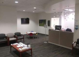PeaceHealth Reception Area Inside The Walk In Clinic