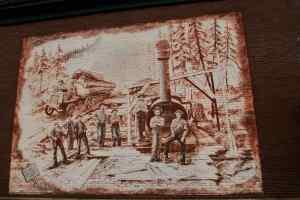 Skagit County Logging Mural