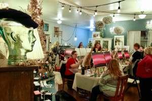 Skagit County Shelley's Shack Paint Class