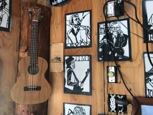 Best Beers in Skagit County Birdsview guitar wall
