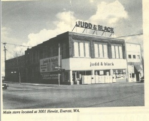 Judd and Black Appliance Judd&Black Everett store 1980s