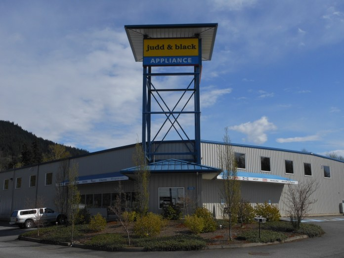 Judd and Black Appliance Mt Vernon WA location