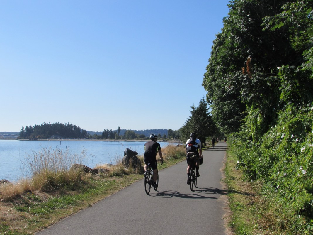 Family Friendly bike ride Skagit County Tommy Thompson Trail Bike Riders
