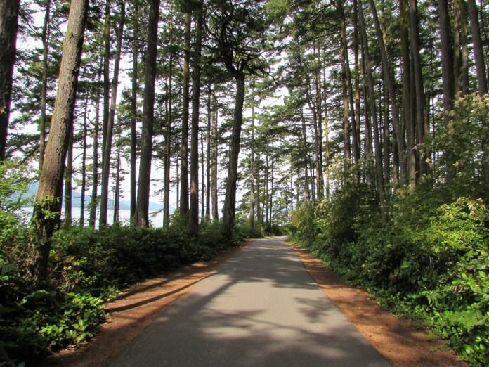Family Friendly bike ride Skagit County Washington Park Loop