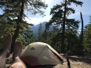 Backpacking in Skagit Hammock