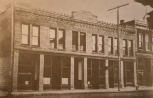 La Conner History Hotel Planter Circa 1900s