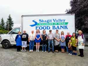 Skagit County Community Giving Skagit Valley Food Bank volunteers