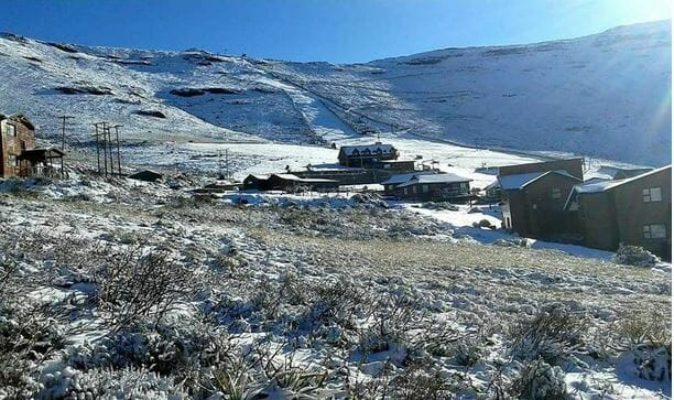 Tiffindell Ski resort welcomes first snowfall