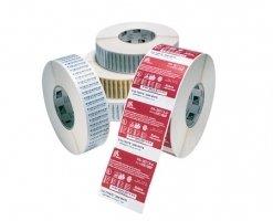 Label – Direkte Termo, Premium, Labels På Rulle, Termopapir, Kasse M/ 12 Ruller – (BxH) 57x102mm