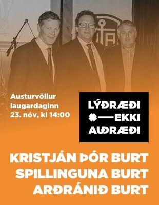 Hvort mætir þú á mótmæli eða í hamsturshjólið?
