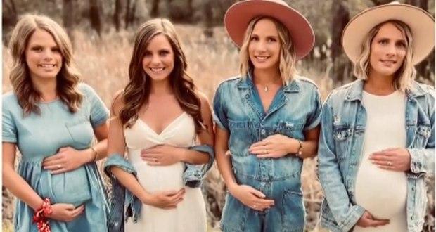 Чудото на живота: Четири сестри забременяха по едно и също време /Снимка/