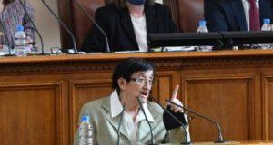 Зайкова: Бюджетът е критичен. Има дефицит който расте скокообразно