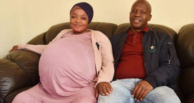 Майка на близнаци роди 10 деца накуп и счупи рекорда на Гинес а мъжът ѝ е безработен /Снимка/