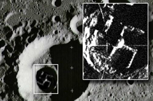 Хитлер имал тайна база на Луната?
