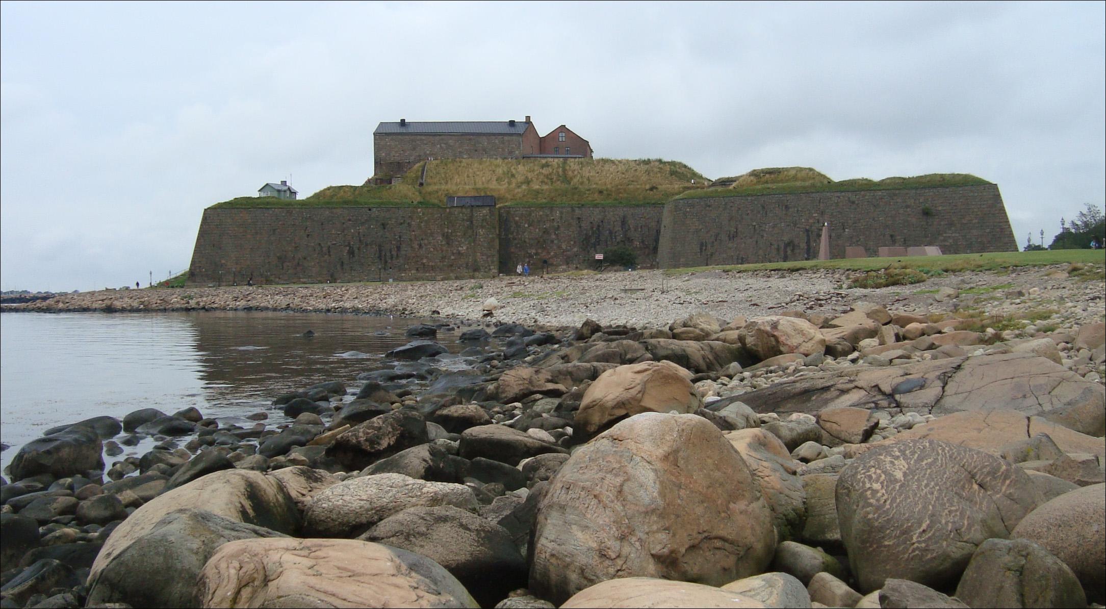 Malownicza forteca w Varberg
