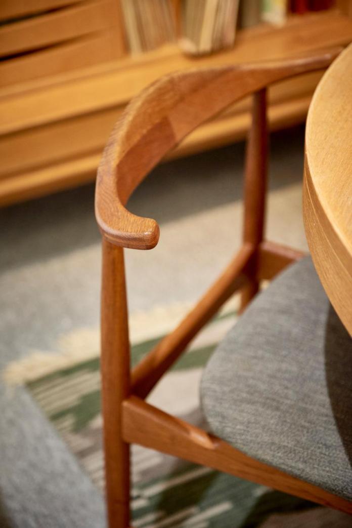 Krzesło DANSKE zaprojektowane przez Erika Wahla Iversena