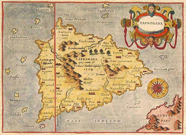 Taprobane.-Antica-Mappa