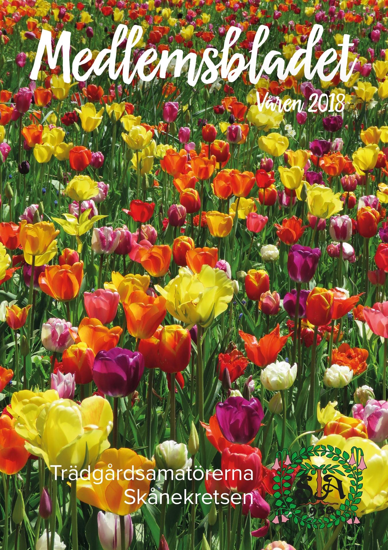 Medlemsbladet våren 2018