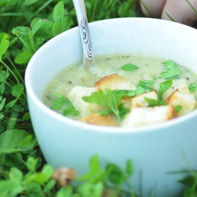 Cukinijų sriuba